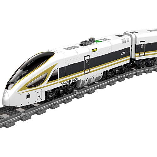 IIKA Adventskalender Zug Track Set DIY Baustein Modelleisenbahn...