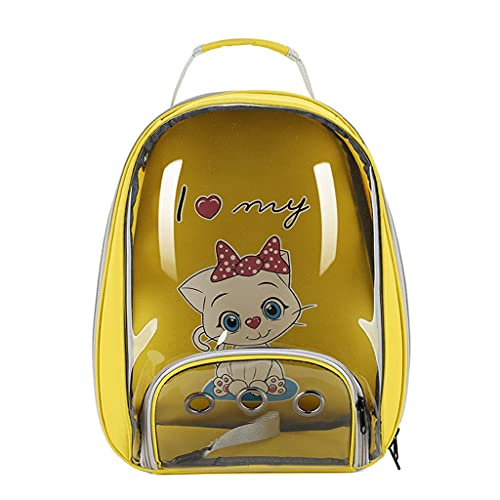 ShiftX4 Katzen-Rucksack für kleine Hunde, tragbar, atmungsaktiv,...