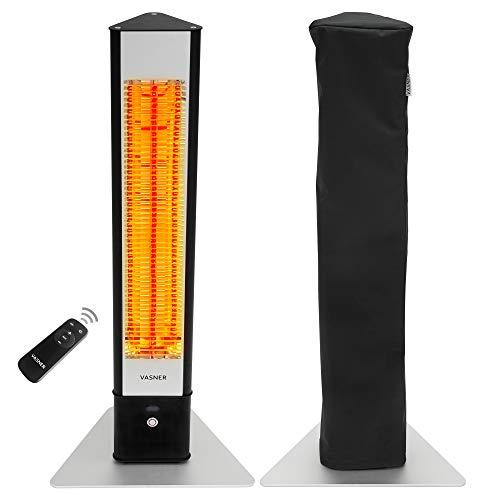 VASNER HeatTower Standheizstrahler Infrarot 2500 Watt mit...