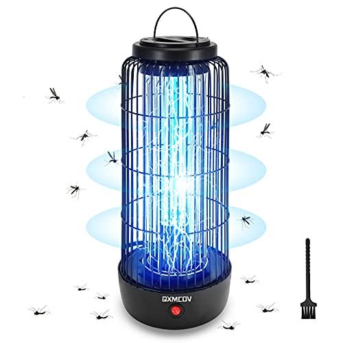 Qxmcov Elektrischer Insektenvernichter, 12W UV Insektenkiller...