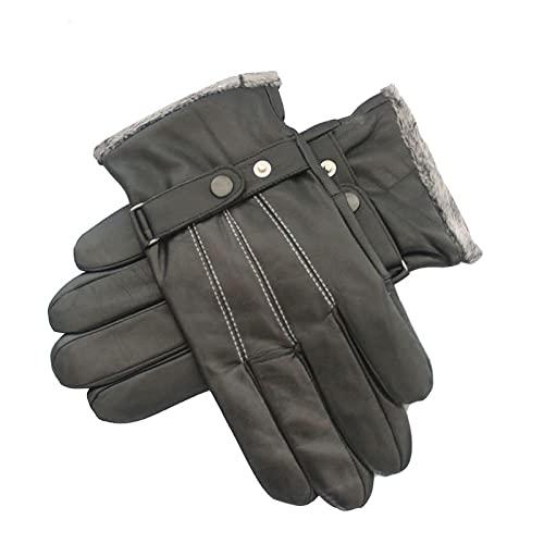 BUXIANGGAN Handschuhe Gloves Winter Warme Handschuhe Für Männer...