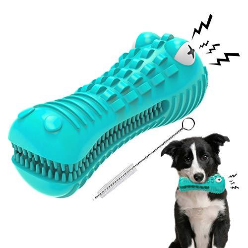EZSMART Kauspielzeug Hund, Quietschspielzeug Hundespielzeug...