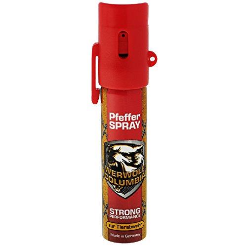 Columbia Werwolf Pfefferspray Verteidigungsspray Pfeffer Spray...