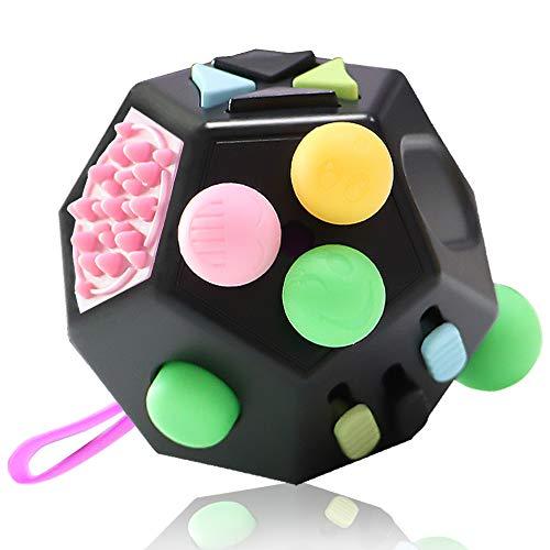 VCOSTORE Fidget Cube 12 Seiten Stresswürfel, Angst Entlastung,...