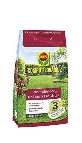 Compo FLORANID Rasendünger plus Unkrautvernichter, 3 Monate...