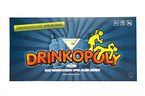 Drinkopoly - Gesellschaftsspiel - an das Sie sich (un)gern...