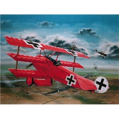 Revell RV04744 Modellbausatz Flugzeug 1:28 - Fokker Dr.1 'Manfred...