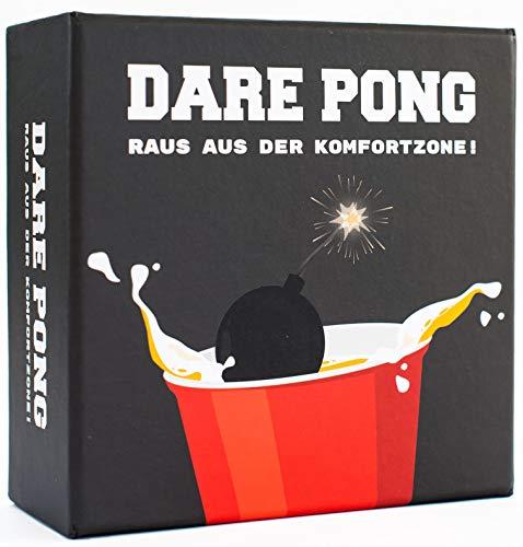 Dare Pong® - Beer Pong trifft auf Wahrheit oder Pflicht....