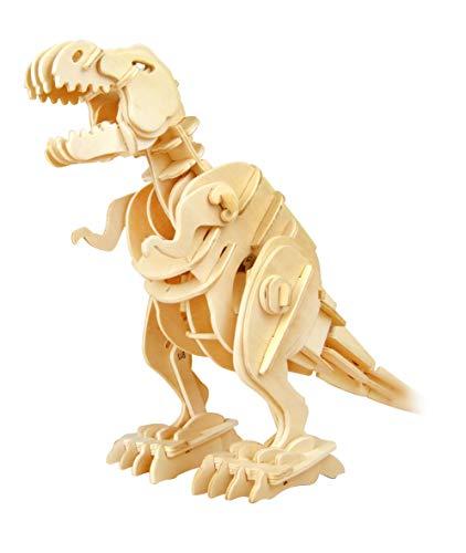 Robotime 3D Puzzle - Dinosaurier Holzspielzeug Holz Modelle...