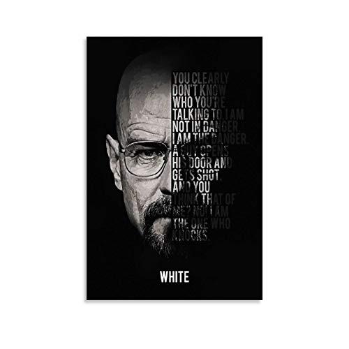 xingqiwu Heisenberg Breaking Bad Leinwand-Kunst-Poster und...