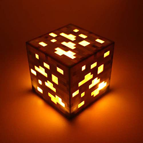 SZSBLT Minecraft Fackel, Smaragd-Erz-Lampe, Gold-Erz-Lampe,...