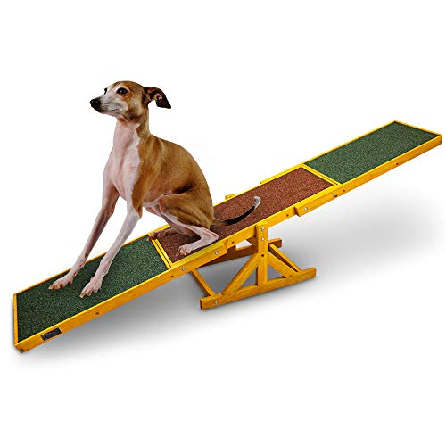 BITUXX Hundewippe Agility Wippe Hundesport Hundetraining