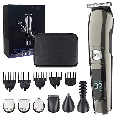 Haarschneidemaschine Profi, 11-in-1 Trimmer für Körper und...