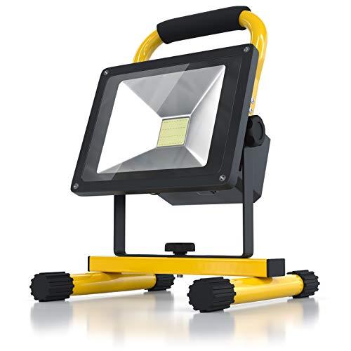 Brandson - Akku LED Baustrahler - Arbeitsscheinwerfer -...