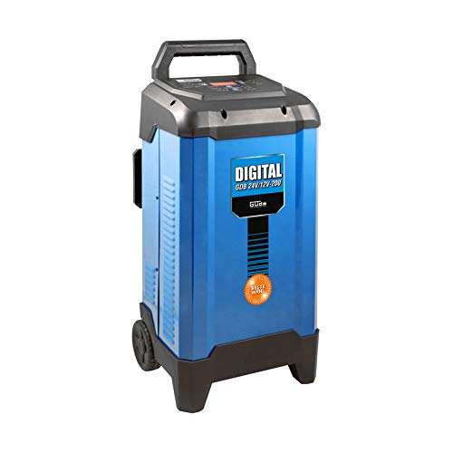 Güde Batterieladegerät Batterielader Autobatterie 12-24V mit...