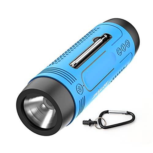 LAMA Multifunktion Bluetooth Lautsprecher mit Taschenlampe Radio...