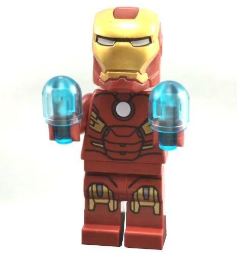 LEGO Iron Man Minifigur 10721 Iron Man Marvel Avengers Spielzeug