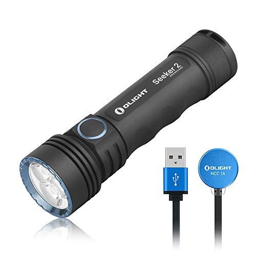 OLIGHT SEEKER 2 LED Taschenlampe 3000 Lumen Max. 15 Tage Laufzeit...