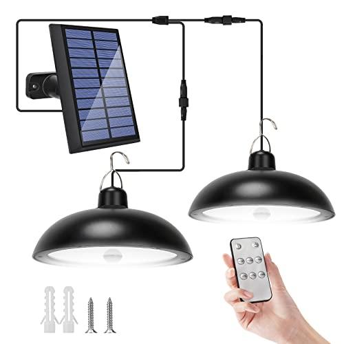 SUPAREE Solar Außenleuchte mit Bewegungsmelder fernbedienung...