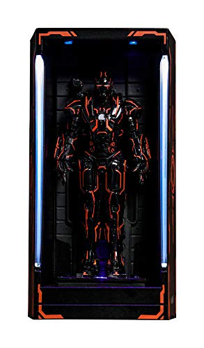 Hot Toys Iron Man 2 MMS Compact Series Diorama Neon Tech War...