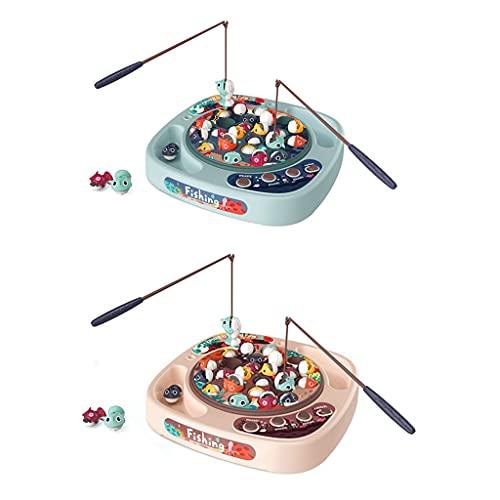 Tkdncbec 1Set Elektrisches realistisches Angelspiel Spielzeug...