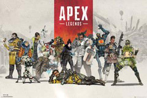 Apex Legends - Poster - Group + Ü-Poster