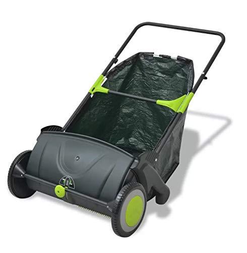 Zerone Kehrmaschine für den Garten, 103 l