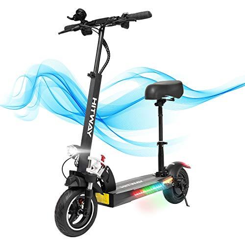 GEARSTONE HITWAY Elektro Scooter, E-Roller mit Sitz (800W, 43km /...