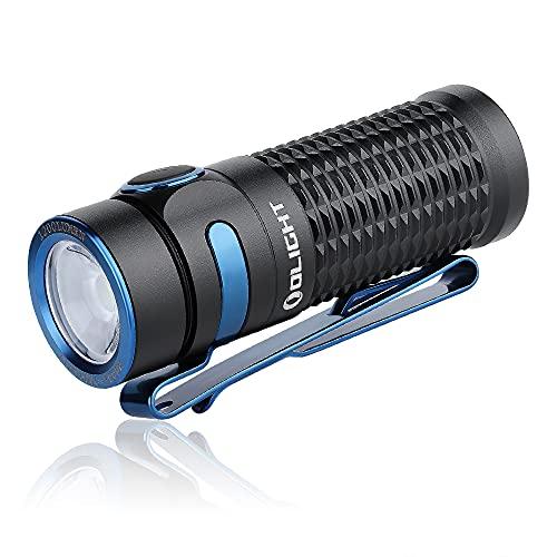 OLIGHT Baton 3 CW LED EDC Aufladbare Taschenlampe Hell 1200 Lumen...