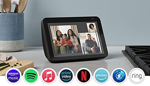 Der neue Echo Show 8 (2. Generation, 2021) | HD-Smart Display mit...