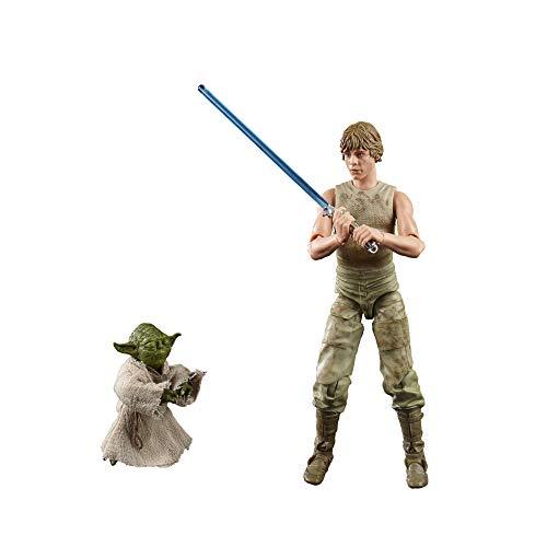Hasbro Star Wars The Black Series Luke Skywalker und Yoda 15 cm...
