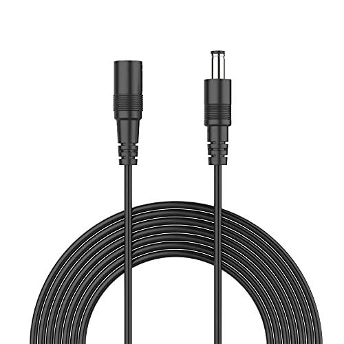 ANNKE 10 m Gleichstrom-Verlängerungskabel, 12 V, 2,1 mm x 5,5...