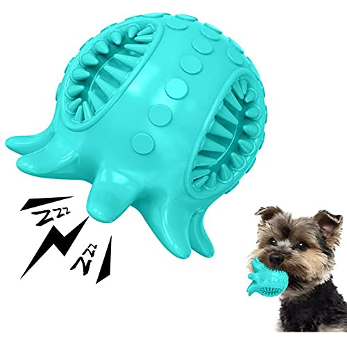 AnCoSoo Oktopus Quietschendes Kautschuk Hundespielzeug,...