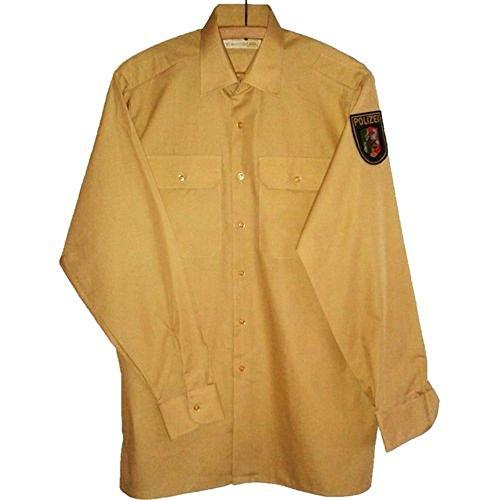 Armeeverkauf Polizei Hemd Langarm NEU Polizeihemd Uniform Police...