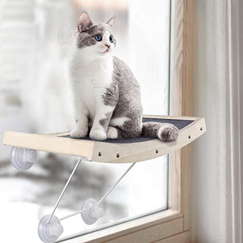 CATROMANCE Katzen Hängematte Katzen Fensterplätze Sonnenbad...
