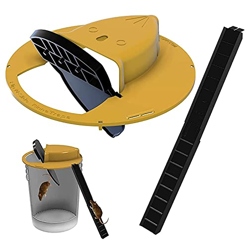 Flip N Slide Bucket Deckel Maus Rattenfalle Schnelle Effektive...