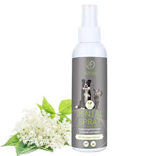 Nutrani Dentalspray für Hunde und Katzen | 150 ml – mit...