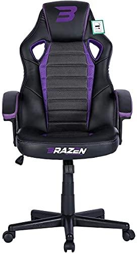 BraZen Salute PC-Gaming-Stuhl violett