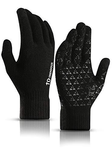 TRENDOUX Arbeitshandschuhe Winter, Handschuhe Herren Touchscreen...