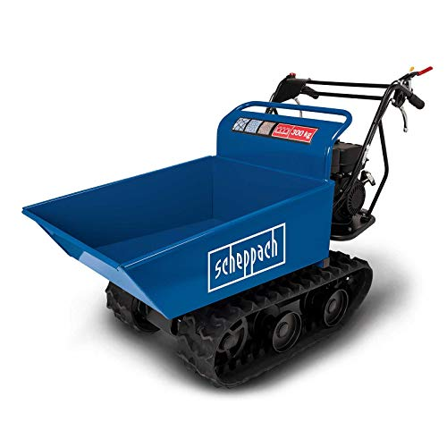 scheppach Dumper DP4000 Profi Benzin-Raupen-Ketten-Dumper| 300 kg...