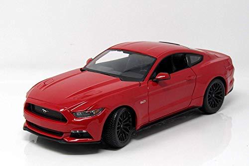 Ford Mustang 2015 rot Modellauto 31197 Maisto 1:18