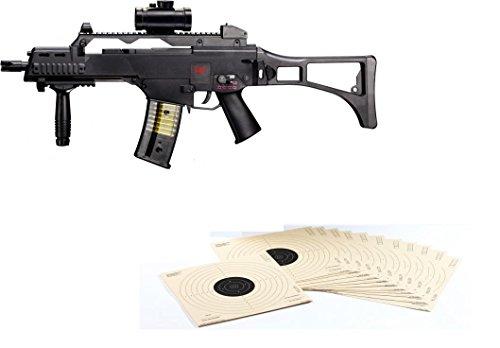 G8DS Set: HK Heckler & Koch G36 C AEG ELEKTRISCH Softair Gewehr +...