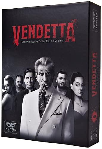 Vendetta - Krimi Spiel Escape Room Spiel für 1-5 Personen -...