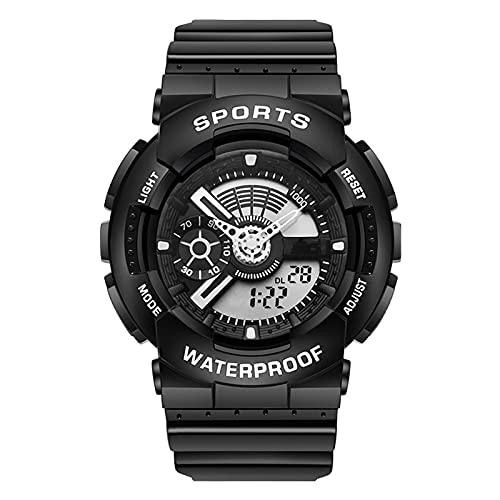 TREWQ Herren Uhren Digitaluhr Männer Militär Sportuhr...