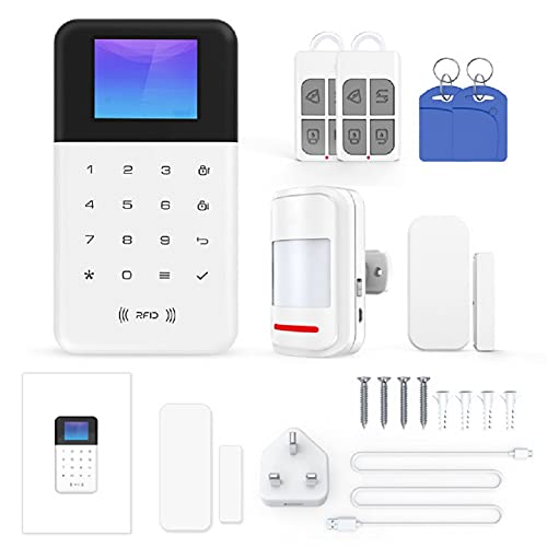 Tuya WiFi Smart Alarm Host Wireless GSM + WIFI Anti-Diebstahl...