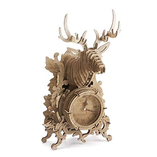 Amy & Benton 3D Puzzle Holz Uhr , Modellbau Holz Uhr,...