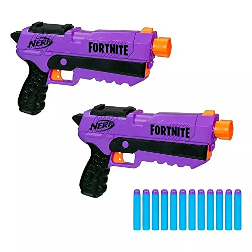 Hasbro Nerf Fortnite DP-E Dart Blaster 2er-Pack