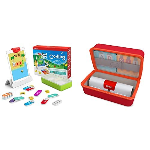 Osmo Coding Starter Kit for iPad - 3 Hands-on Learning Games -...