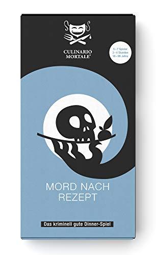 Culinario Mortale Mord nach Rezept - Das Krimi-Dinner Spiel für...