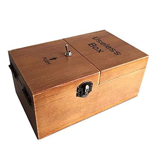 Maijia Useless Box Wooden Macht Sich selbst fertig zusammengebaut...